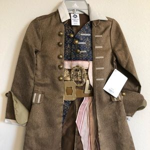 NWT Captain Jack Sparrow Costume from Disney Store